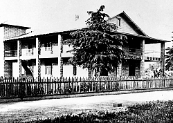 The Capdeville home on Curry and E Street later was used as a rooming house before becoming the Tehachapi Hospital.