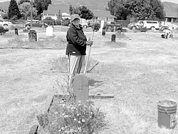 May 11th Old Cemetery clean-up day.