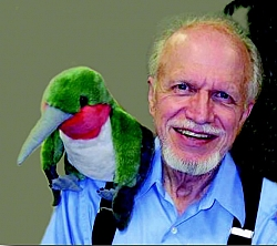 Dr. H. Ross Hawkins, founder and executive director of the Hummingbird Society